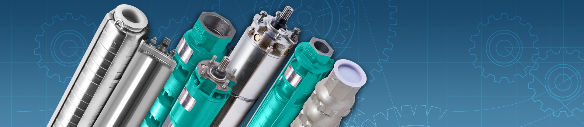 Complete Range of Submersible Pumpsets